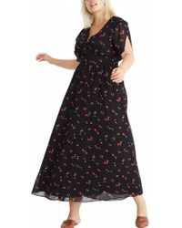 Madewell - Tulip Sleeve Maxi Dress - Lyst