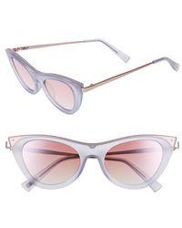 Le Specs - Enchantress 49mm Retro Sunglasses - Lyst