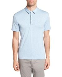 Theory - Bron Slim Fit Polo - Lyst