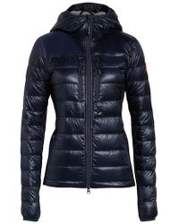Canada Goose - 'hybridge Lite' Slim Fit Hooded Packable Down Jacket, (0) - Lyst