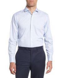 BOSS - Mark Sharp Fit Stripe Dress Shirt - Lyst