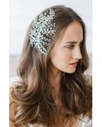 Brides & Hairpins - 'veda' Crystal Embellished Hair Comb - Lyst