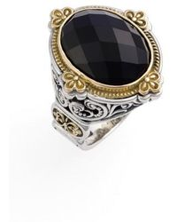 Konstantino | 'nykta' Faceted Stone Ring | Lyst