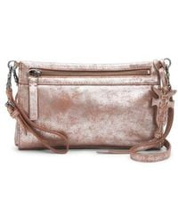 Frye - Carson Metallic Leather Crossbody - - Lyst
