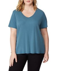 REBEL WILSON X ANGELS - Tulip Back Tee - Lyst
