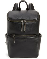 Matt & Nat - Mini Brave Faux Leather Backpack - Lyst