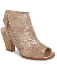 Paul Green - 'cayanne' Leather Peep Toe Sandal - Lyst