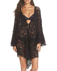 Free People - Move Over Lace Wrap - Lyst