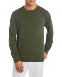 Lacoste   Slim Fit French Terry Sweatshirt   Lyst