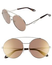 Givenchy - 62mm Oversize Round Sunglasses - - Lyst
