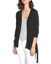 Chelsea28 - Ruched Side Cardigan - Lyst
