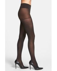 DKNY - Opaque Control Top Tights - Lyst