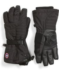 Canada Goose - 'arctic' Waterproof Down Gloves - Lyst