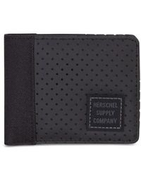Herschel Supply Co. - Edward Aspect Perforated Wallet - - Lyst