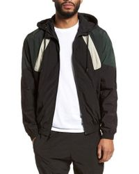 Vince - Hooded Shell Jacket - Lyst
