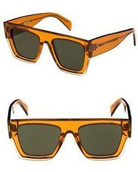 1b77856833d Lyst - Cazal 672 080sg Amber Gold Square Sunglasses in Metallic