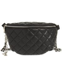 Steve Madden - Quilted Faux Leather Fanny Pack - Lyst