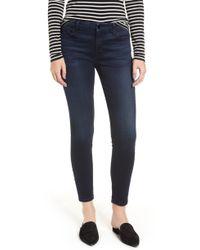Jen7 - Stretch Ankle Jeans - Lyst