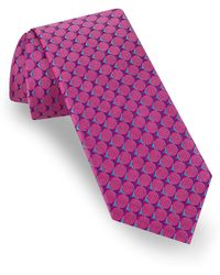 Ted Baker - Circle Grid Silk Tie - Lyst