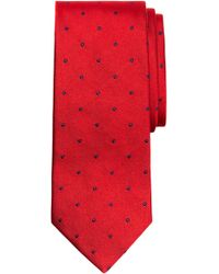 Brooks Brothers - Small Dot Silk Tie (x-long) - Lyst