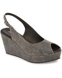 Cordani - Fabrice Slingback Platform Sandal - Lyst