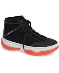 sports shoes ec11d 4abca Alexander Wang - A1 Black Sneakers - Lyst