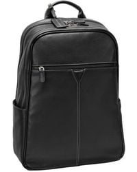 Johnston & Murphy - Leather Backpack - Lyst