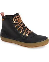 Keds - Scout Boot Splash Canvas Wax (black) Women's Lace-up Boots - Lyst