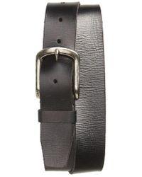 John Varvatos - Classic Leather Belt - Lyst