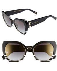 Marc Jacobs - 53mm Cat Eye Sunglasses - Lyst