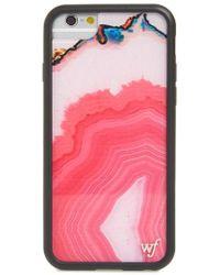 Wildflower - Magenta Stone Iphone 6/7/8 Plus Case - Lyst
