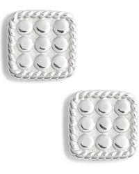 Anna Beck - Mini Cushion Stud Earrings - Lyst