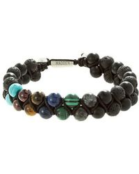 Steve Madden | Stone Bead Bracelet | Lyst