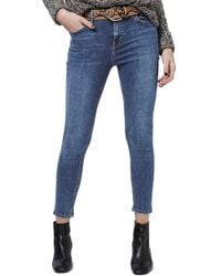 TOPSHOP - 'jamie' High Rise Ankle Skinny Jeans - Lyst