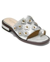 Cole Haan - Carly Floral Sandal - Lyst