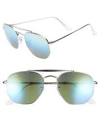 Ray-Ban | Marshal 54mm Aviator Sunglasses | Lyst