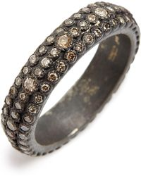 Armenta - Old World Eternity Diamond Stack Ring - Lyst