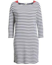 Barbour - Southwold Stripe T-shirt Dress - Lyst