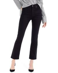 J.Crew - Billie Demi Boot Crop Jeans - Lyst