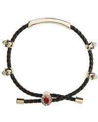 Alexander McQueen - Friendship Skull Bracelet - Lyst