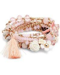 Adia Kibur - Beaded Bracelet - Lyst