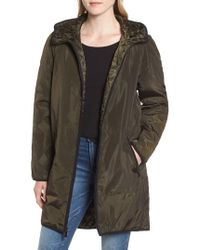MICHAEL Michael Kors - Quilted Lining Parka - Lyst