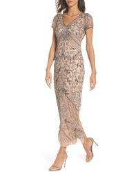 Pisarro Nights Beaded Longline Gown