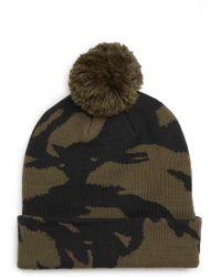 3ae1dbe376e Lyst - The North Face  ski Tuke V  Beanie in Brown for Men