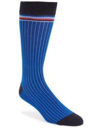 Ted Baker - Pegbra Stripe Socks - Lyst