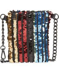 Steve Madden - Sequin Chain Belt Bag - Lyst