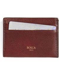Bosca | Leather Card Case | Lyst