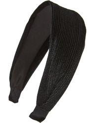 Cara - Pleated Headband - Lyst