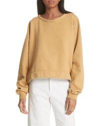 Rachel Comey - Mingle Distressed Sweatshirt - Lyst