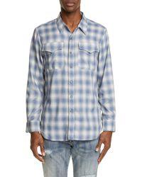 e3f5e619 Rag & Bone Greenleaf Shirt in Natural for Men - Lyst